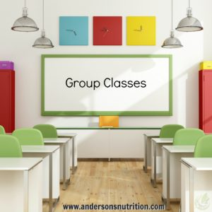 nutrition group classes